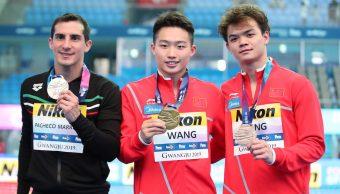 Foto Rommel Pacheco gana plata en Mundiales de Natación 14 julio 2019