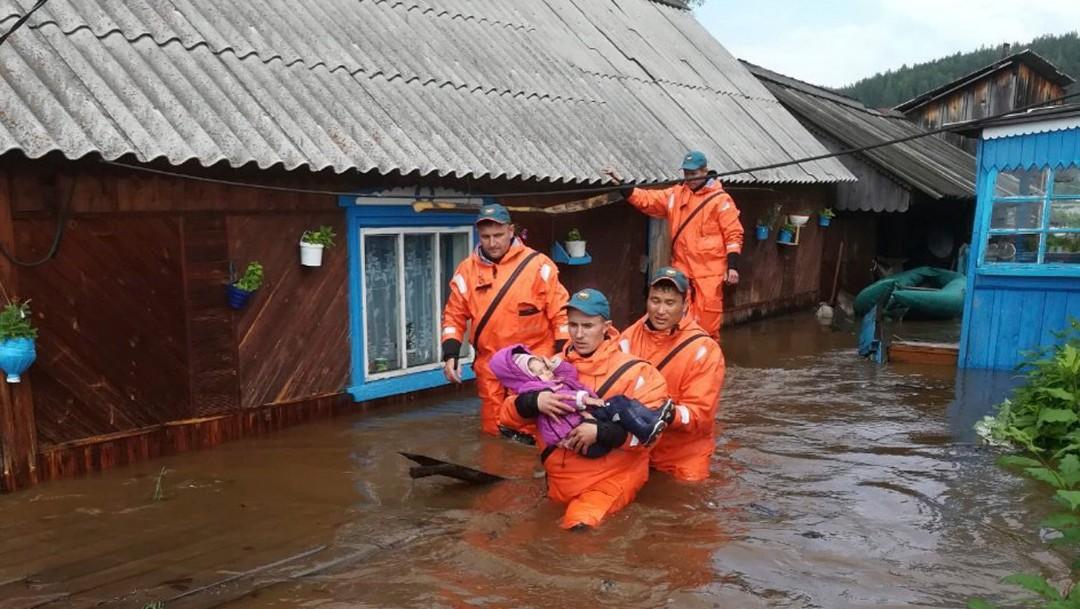 Foto: Inundaciones en Rusia dejan varios muertos, 30 de junio de 2019, Rusia