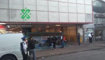 Concentración de manifestantes en Hamburgo, colonia Juárez. (OVIALSSCCDMX)