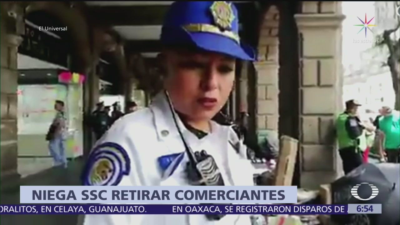 SSC investiga retiro de ambulantes del Zócalo por AMLOFEST