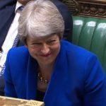 FOTO Theresa May acude al Parlamento por última vez como primera ministra (EFE)