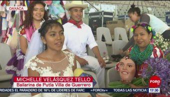 FOTO: Todo listo para las fiestas de la Guelaguetza, en Oaxaca, 20 Julio 2019