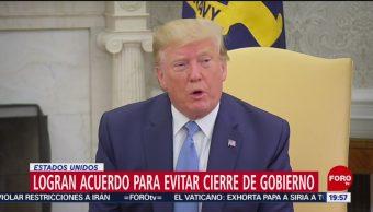 Foto: Trump Acuerdo Cierre De Gobierno Estados Unidos 22 Julio 2019