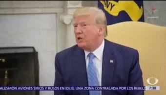 Trump dice que podría ganar guerra en Afganistán en una semana