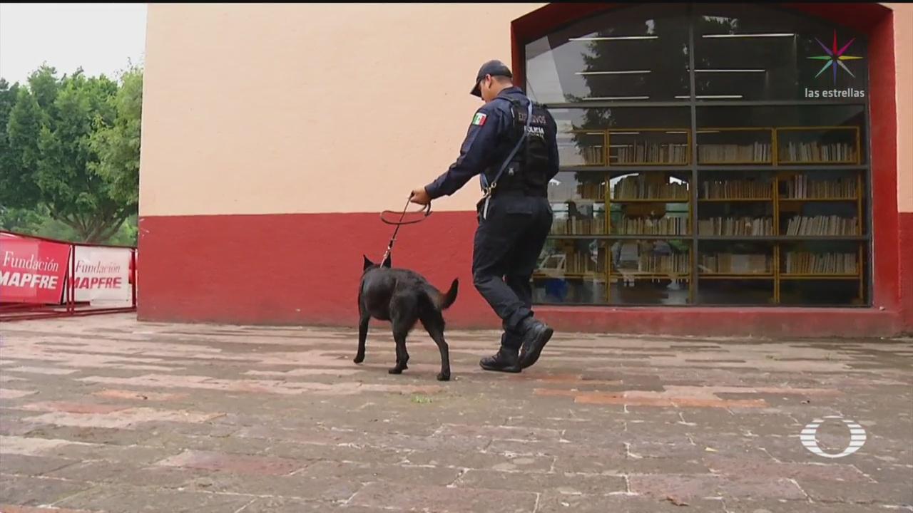Foto: Unidad Canina Policía Federal Reintegrarse Guardia Nacional 5 Julio 2019