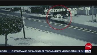 Vuelca patrulla en la carretera Puebla-Tehuacán