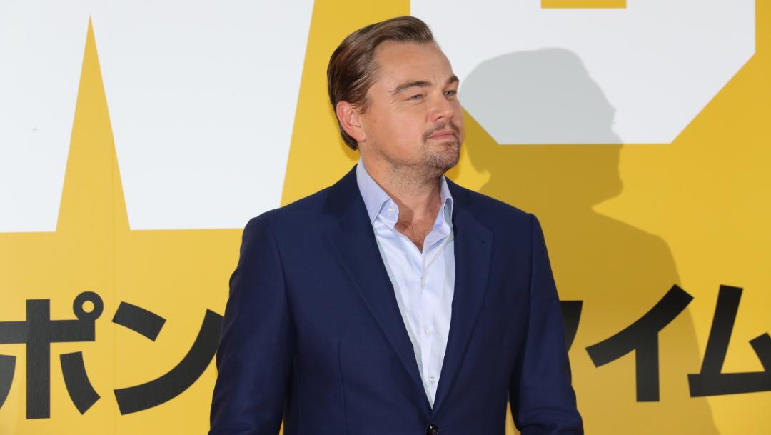 Leonardo Dicaprio en la alfombra roja de 'Once Upon a Time in Hollywood', en Japón. (Reuters)