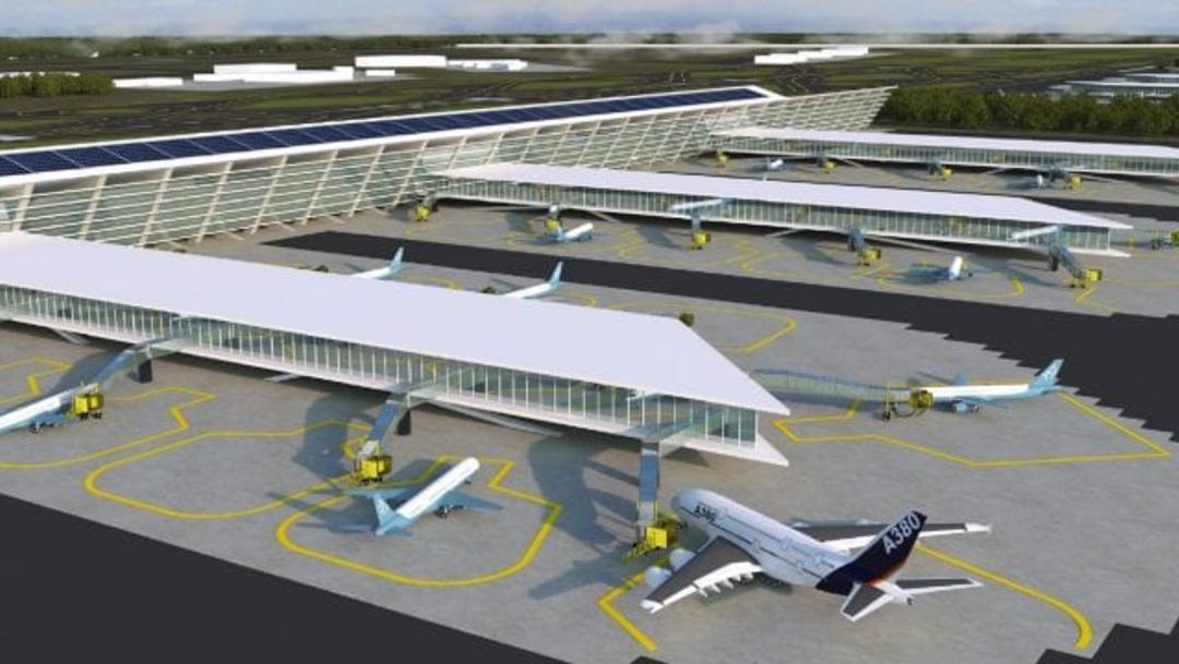 Foto: El inicio de la construcción del Aeropuerto de Santa Lucía tendrá que esperar a que se emita sentencia definitiva en el juicio de amparo., 21 de agosto 2019. (SCT)