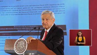 FOTO AMLO responde al #LonganizaGate, niega esos gastos en Presidencia (YouTube)