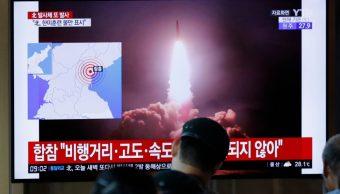 Foto: Las fuerzas de Washington y de Seúl se encuentran analizando los datos recopilados sobre la trayectoria de los proyectiles, 09 de agosto de 2019, (AP)