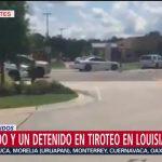 FOTO: Tiroteo Baton Rouge Louisiana Arrestan Hombre