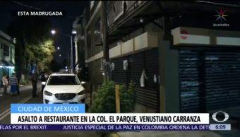 Asalto a restaurante en la colonia El Parque deja dos detenidos