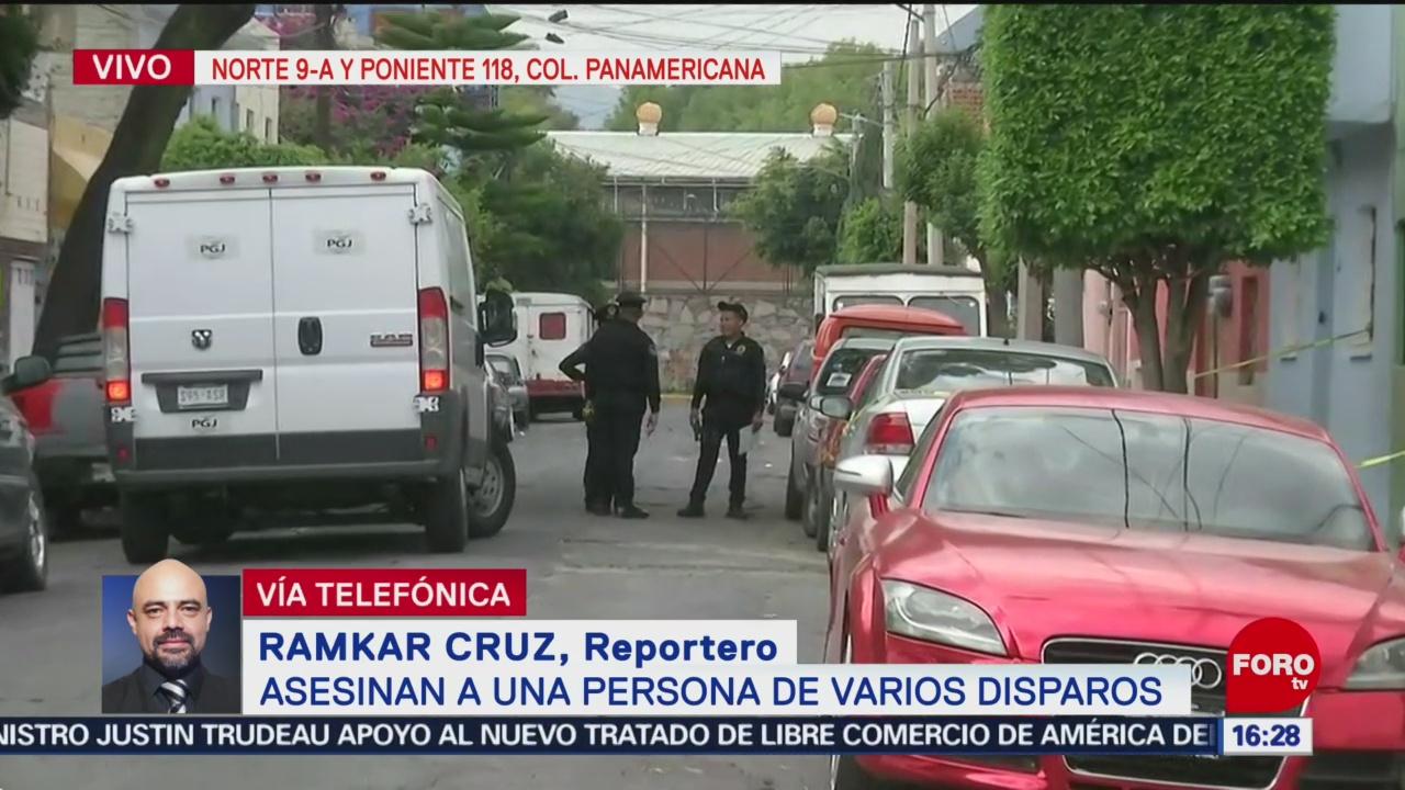 FOTO: Asesinan a una persona de varios disparos, 17 Agosto 2019
