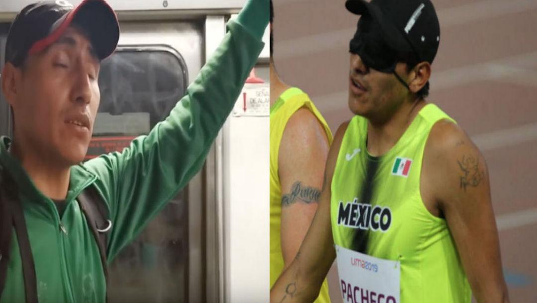 Foto Atleta invidente que canta en el Metro, gana bronce en los Parapanamericanos 30 agosto 2019