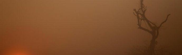 Foto: Los incendios han dejado una densa capa de humo, 28 de agosto de 2019 (EFE)