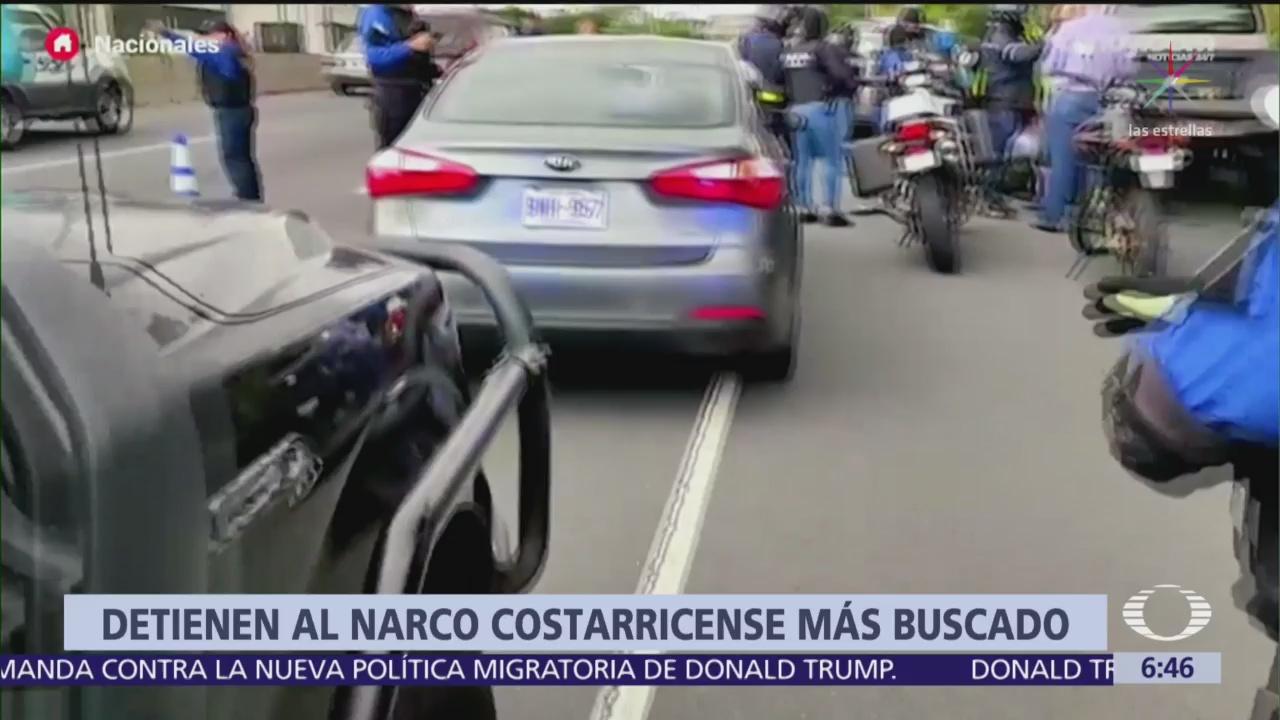 Capturan en Costa Rica a uno de los narcotraficantes más buscados