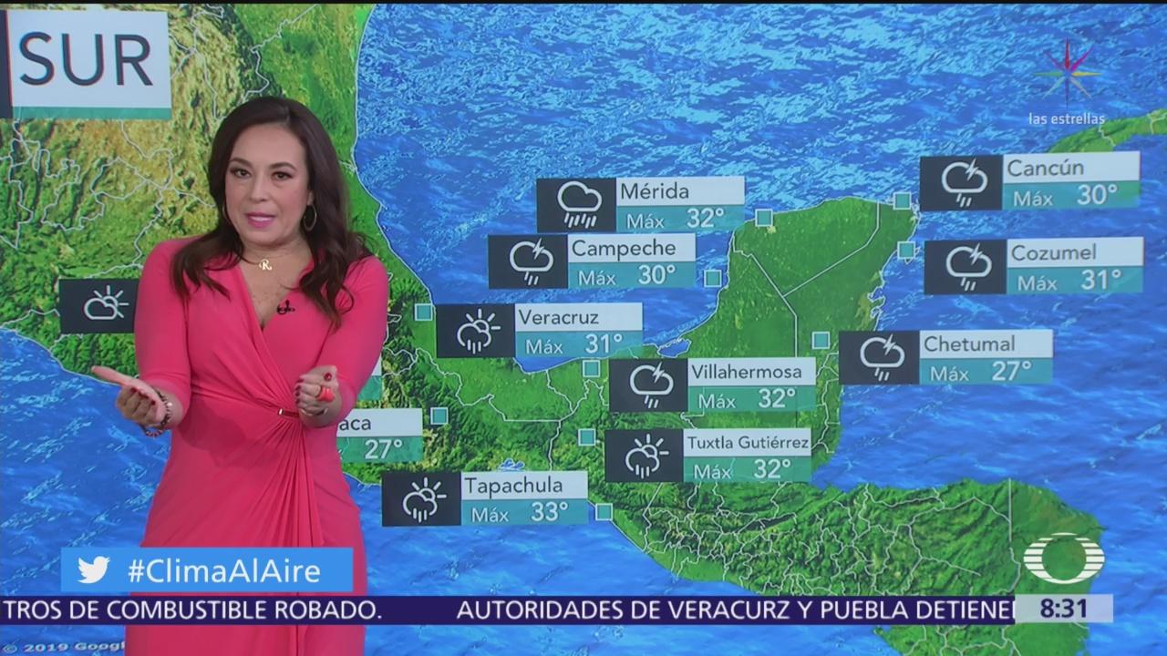 FOTO: 16 marzo 2020, clima al aire preven lluvias en gran parte de mexico