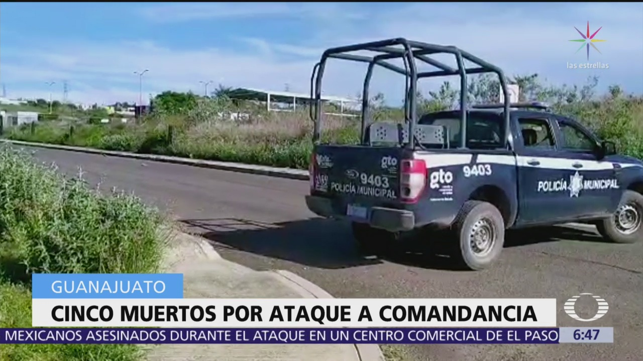 Comando armado asesina a cinco personas en Guanajuato