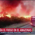 Foto: Crisis Internacional Por Incendios Amazonía Brasileña 22 agosto 2019