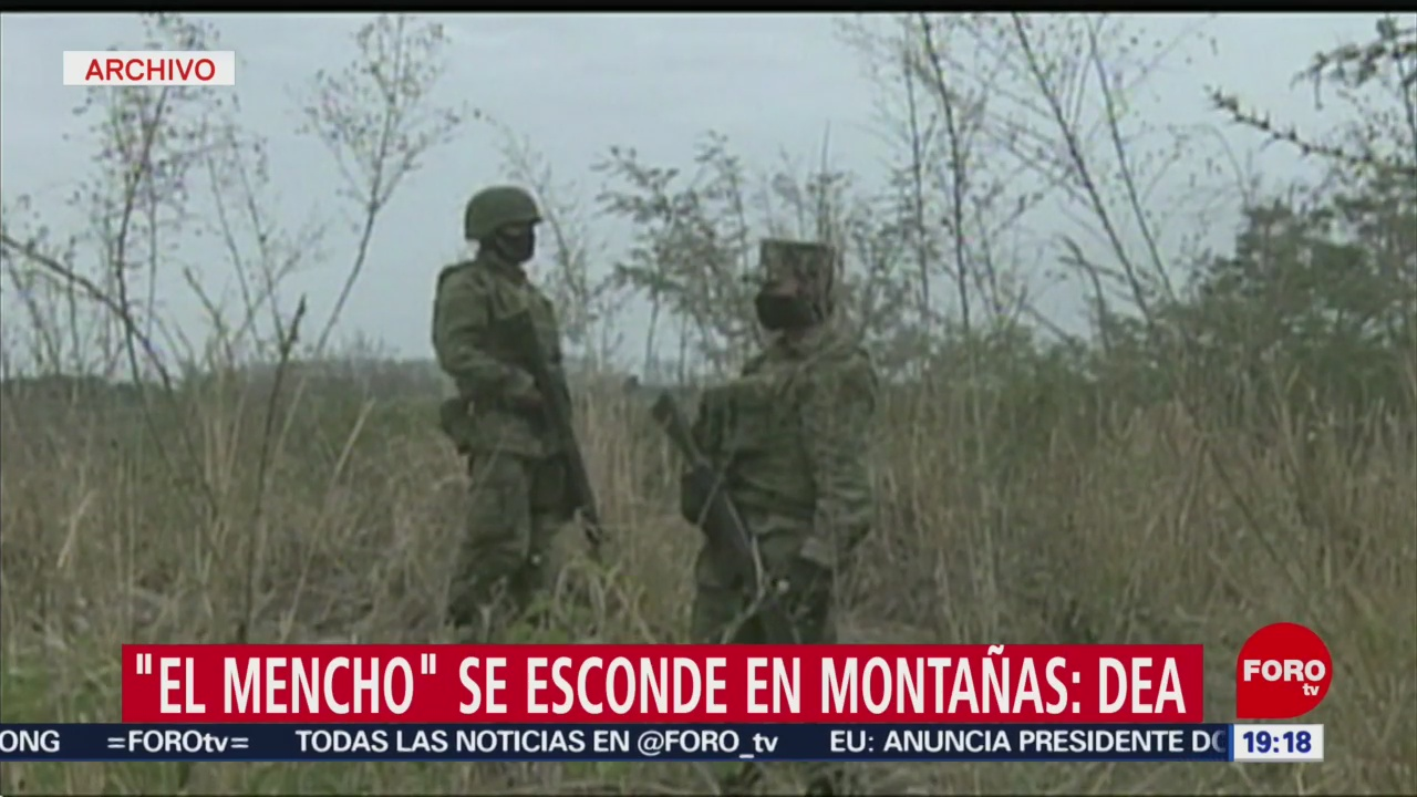 Foto: Dea Asegura El Mencho Esconde Montañas 1 Agosto 2019