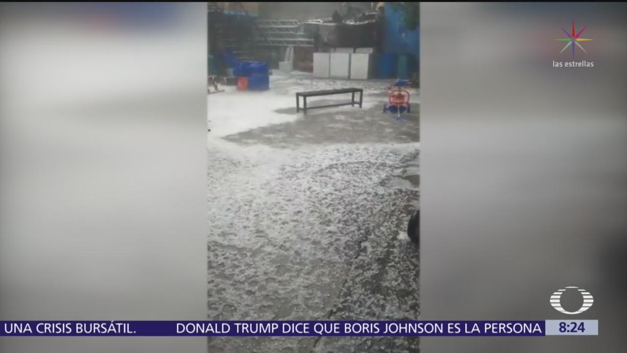 Desbordan ríos en Naucalpan, Edomex, por lluvias