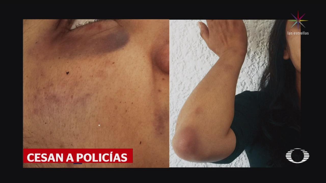 Foto: Destituyen Policías Detuvieron Periodista Michoacán Que Denunció Intento Violación