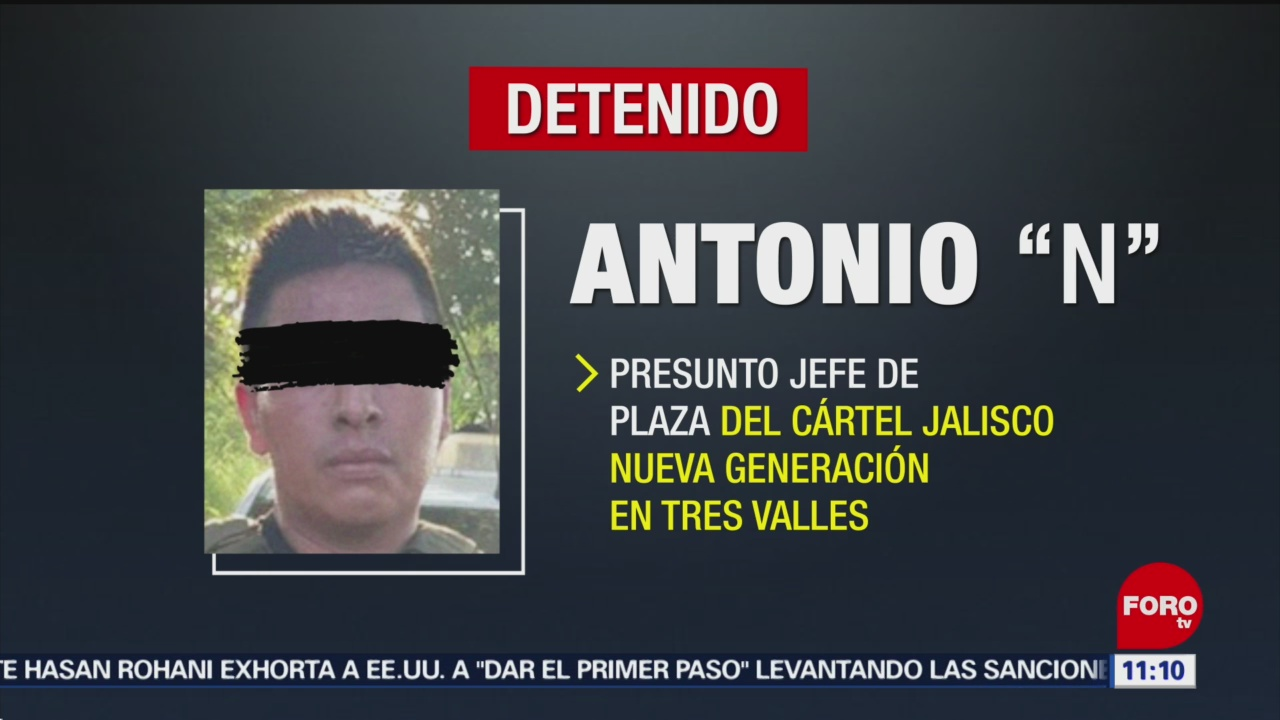 Detienen a operador del Cártel Jalisco Nueva Generación en Veracruz
