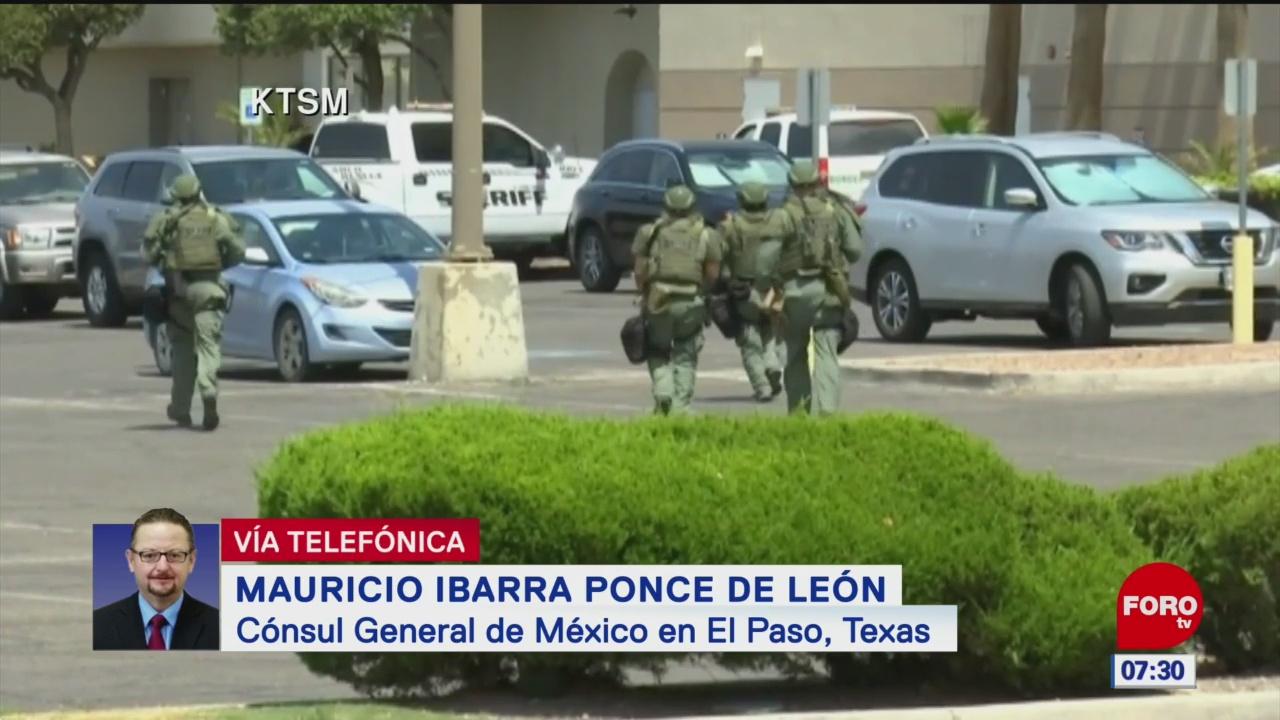 Ebrard se reunirá con familias de víctimas en tiroteo de El Paso, Texas