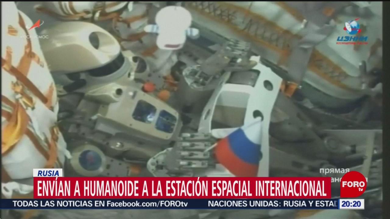 Foto: Envían Robot Humanoide Estación Espacial Internacional