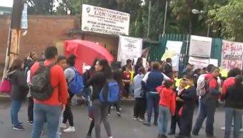 Foto: Escuela cerrada en Azcapotzalco, 26 de agosto de 2019, Ciudad de México