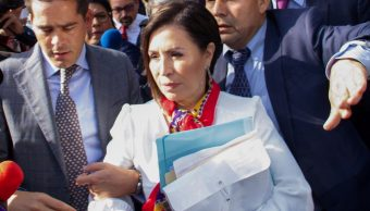 Foto: Rosario Robles, exsecretario de Desarrollo Agrario, Territorial y Urbano de México. El 12 de agosto de 2019. Efe