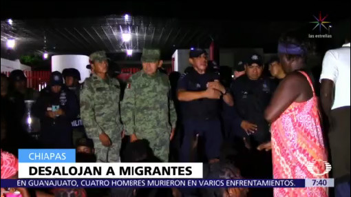 Guardia Nacional resguarda estación migratoria en Chiapas