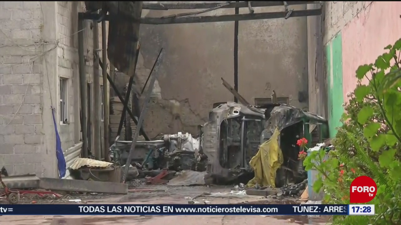 Foto: Dos Detenidos Incendio Pensión Autos GAM 23 Agosto 2019