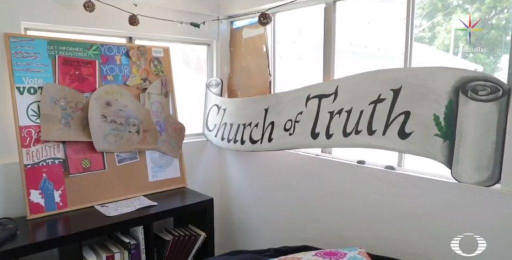 Foto 'Iglesia de la Verdad', recinto venera a la marihuana en EU 13 agosto 2019