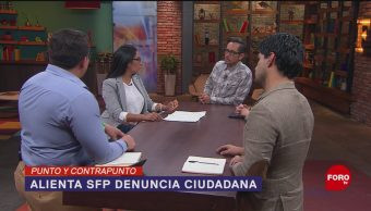 Foto: Ciudadanos Alertadores Internos Externos Corrupción SFP 8 Agosto 2019