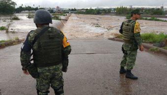 Afectaciones por lluvias en Sinaloa