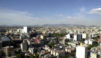 FOTO Inversión extranjera directa en México crece 1,5 %; en la imagen, vista panorámica de la CDMX (AP, archivo)