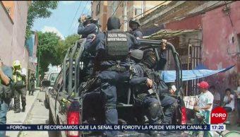FOTO: Investigan muerte joven durante operativo Tepito