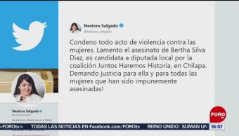 FOTO: Investigan muerte de maestra en Chilapa, Guerrero, 10 Agosto 2019