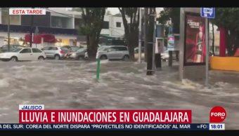 FOTO: Lluvias Inundaciones Afectan Guadalajara