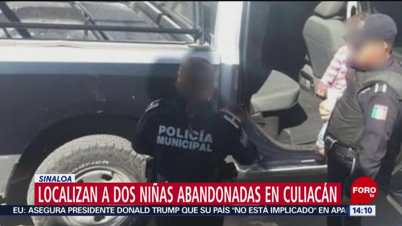 FOTO: Localizan a dos niñas abandonadas en Culiacán, Sinaloa, 31 Agosto 2019
