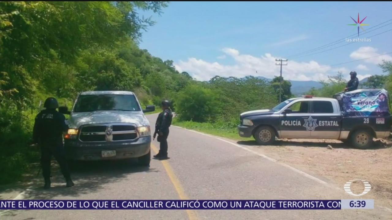 Mantienen operativos de seguridad en Guerrero