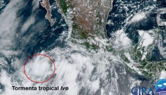 tormenta tropical 'Ivo'