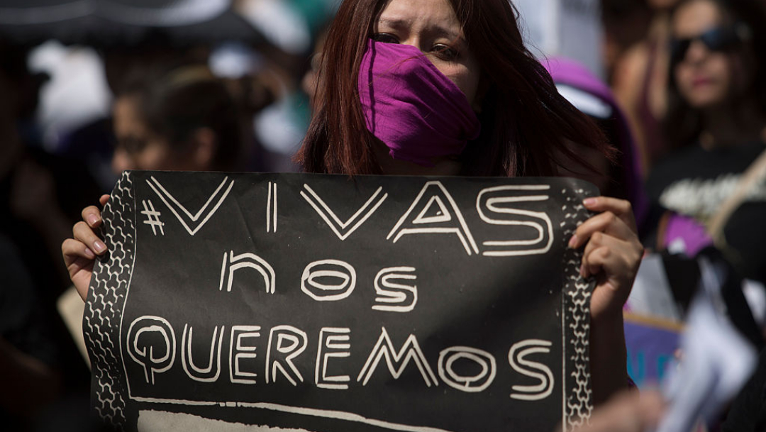 Foto:Marcha contra feminicidios. 20 agosto 2019.
