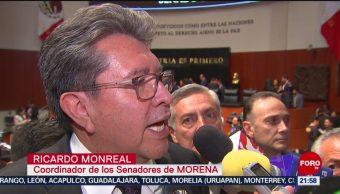 FOTO: Monreal pide que se respete ley para que PAN presida Mesa Directiva, 31 Agosto 2019