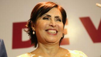 FOTO Niegan a Rosario Robles suspensión definitiva ante ordenes de aprehensión (Perspectiva Digital)