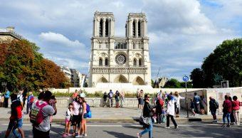 Foto: Catedral de Notre Dame, 12 de agosto de 2019, París, Francia