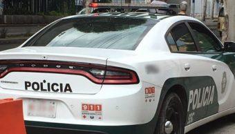 Fotografía que muestra una patrulla de la Policía de la CDMX, 8 agosto, 2019
