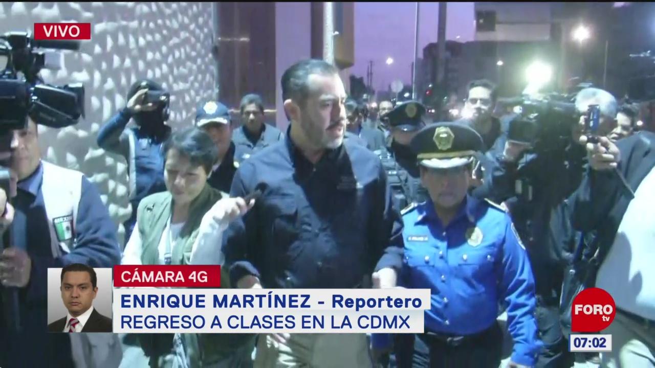 Policías aplicarán operativo por regreso a clases en CDMX