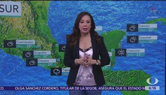 Pronostican lluvias en 26 estados; en Chiapas serán intensas